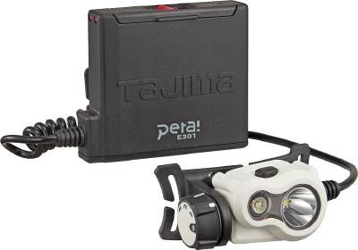 タジマ ペタLEDヘッドライトE301ホワイト LEE301W