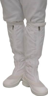 ゴールドウイン ファスナー付ロングブーツ ホワイト 23.0cm PA9350W23.0