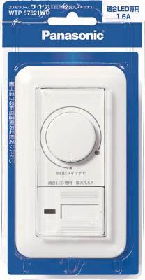 Panasonic コスモワイドLED埋込調光スイッチC WTP57521WP