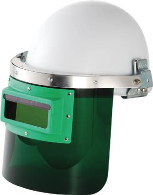 リケン 自動遮光溶接面 防災面型(ヘルメット取付タイプ)【GM-HS2】(溶接用品・溶接面)【S1】