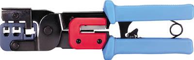 デンサン スーパーモジュラー工具【MJ-468N】(電設工具・圧着工具)