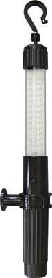 日動 充電式LEDハンディーライト 4W 黒【LEH-4W-B】(作業灯・照明用品・作業灯)