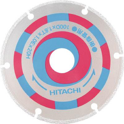 日立 スーパーダイヤモンドカッター 125mmX22 (樹脂管用) 322153