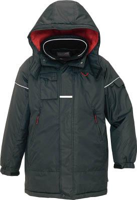 アイトス 防寒コート ブラックM AZ6060010M