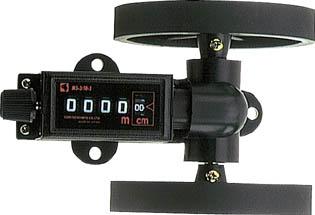 長さ計10cm【MS3-10-5】(測量用品・ローラー距離計) 古里