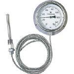佐藤 隔測指示温度計【LB-100S-4】(計測機器・温度計・湿度計)