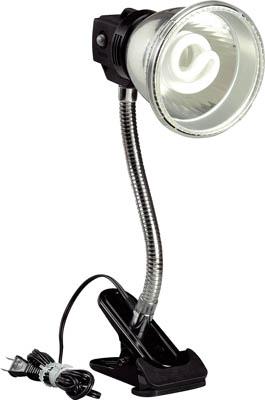 ハタヤ 蛍光灯マグスタンド 18W蛍光灯付 電線1.6m クリップ付【MF-15C】(作業灯・照明用品・電気スタンド)