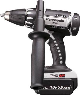 Panasonic 充電ドリルドライバー 18V 5.0Ah EZ7450LJ2SH