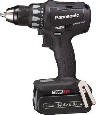 Panasonic 充電ドリルドライバー 14.4V 5.0Ah (黒) EZ74A2LJ2FB【S1】