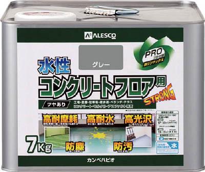 ALESCO 水性コンクリートフロア用 7KG グレー 3790327