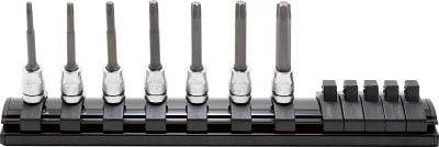 コーケン 6.35mm差込 Z-EALトルクスビットソケットレールセット7ヶ組 RS2025Z7L50