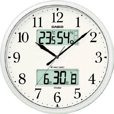 カシオ 電波掛け時計 ITM660NJ8JF