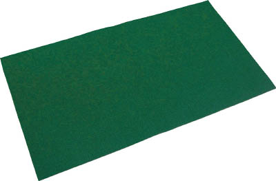 TRUSCO オイルキャッチャーマット 緑 500X900 10枚入 TOC509010