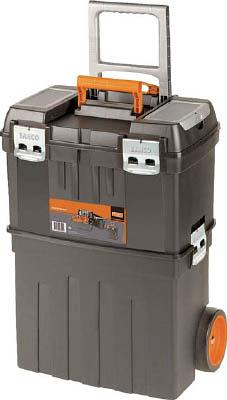 バーコ ヘビーデューティー仕様キャスター付きプラスチックボックス 4750PTBW47