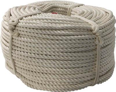 ユタカ ロープ 綿ロープ巻物 9φ×200m C9200
