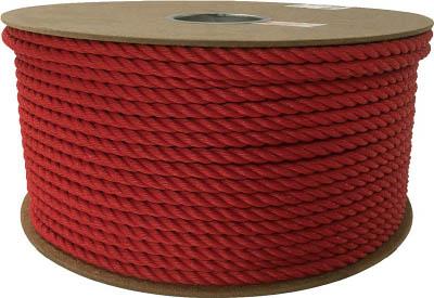 ユタカ ポリエチレンロープドラム巻 9mm×150m レッド PRE51