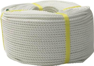 ユタカ ロープ ポリエステルロープ巻物 6φ×200m S6200