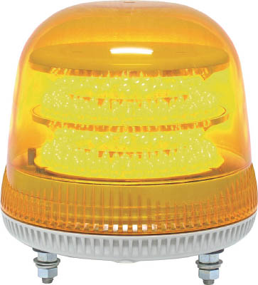 NIKKEI ニコモア VL17R型 LED回転灯 170パイ 黄 VL17M100APY