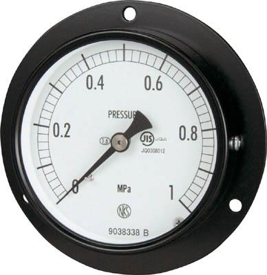 長野 普通形圧力計【AC15-231-4.0MP】(計測機器・圧力計)