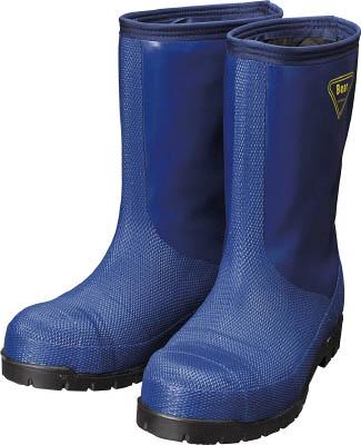 SHIBATA 冷蔵庫用長靴-40℃ NR021 28.0 ネイビー NR02128.0