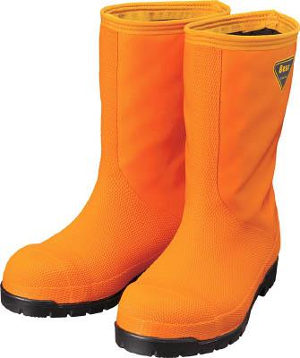 SHIBATA 冷蔵庫用長靴-40℃ NR031 23.0 オレンジ NR03123.0