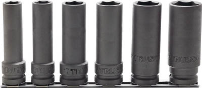 TRUSCO インパクト用超ロングソケットセット 長さ100mm T46SL100SET