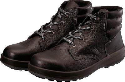シモン 3層底安全編上靴 WS22BK23.5