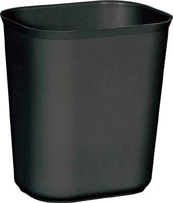 ラバーメイド 耐火性バスケット ブラック 254107