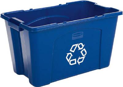 ラバーメイド リサイクルボックス ブルー 57187365