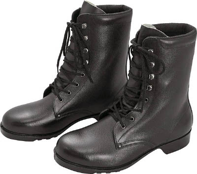 ミドリ安全 ゴム底安全靴 長編上 V213N 25.0CM V213N25.0