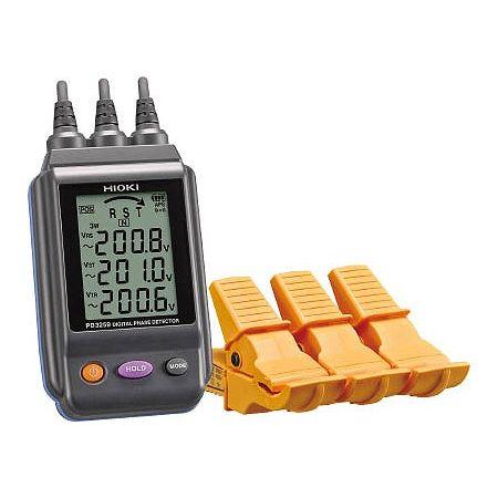 HIOKI 電圧計付検相器 PD3259