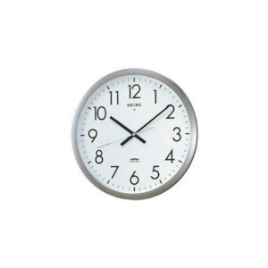 SEIKO 電波掛時計 直径421×48 金属枠 KS266S【送料無料】