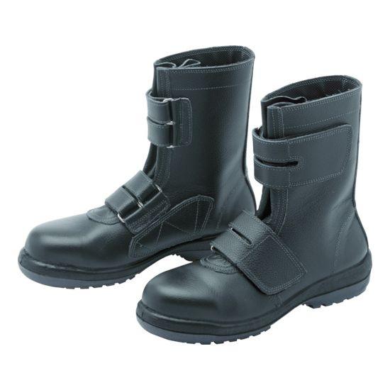 ミドリ安全 ラバーテック安全靴 長編上マジックタイプ RT73525.5【送料無料】