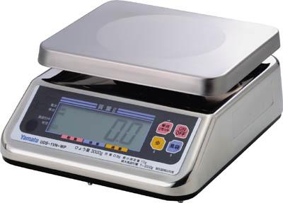 ヤマト 完全防水形デジタル上皿自動はかり UDS-1VN-WP-6 6kg【UDS-1VN-WP-6】(計測機器・はかり)
