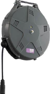 TRIENS エアーホースリール(耐スパッタ仕様)内径8mm×15m【SHA-3BSZ】(流体継手・チューブ・エアリール)