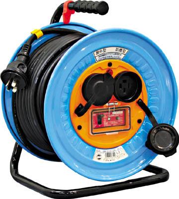 【驚きの価格が実現!】 電工ドラム 防雨防塵型三相200V アース過負荷漏電しゃ断器付 日動 30m【DNW-EK330-20A】:リコメン堂-DIY・工具