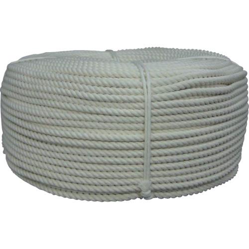 ユタカ ロープ 綿ロープ巻物 8φ×200m C8200【送料無料】