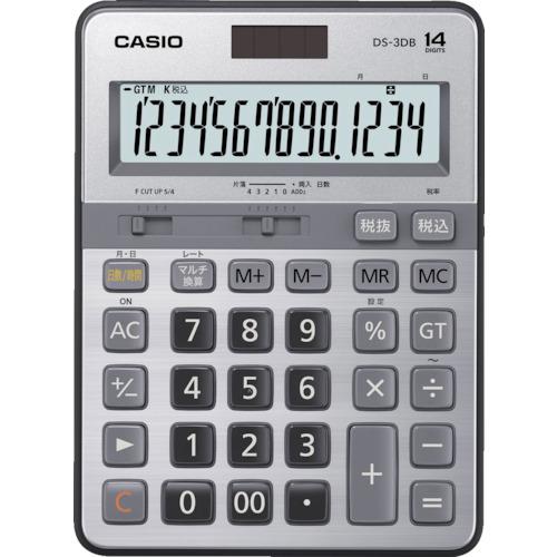 カシオ 本格実務電卓 DS3DB【送料無料】【S1】