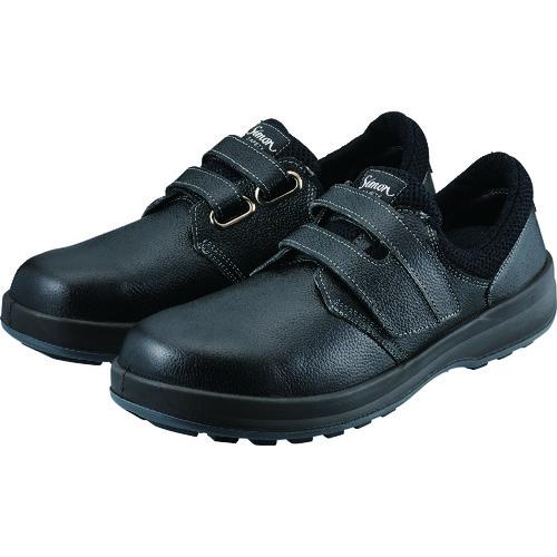 シモン 安全靴 短靴 WS18黒 23.5cm WS18B23.5【送料無料】