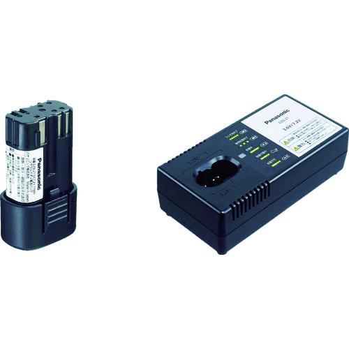 Panasonic パナソニック 7.2V電池パック 充電器セット EZ9L21ST【送料無料】