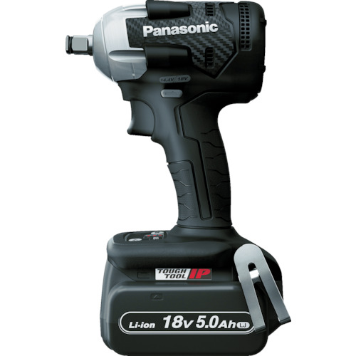 Panasonic パナソニック デュアル 充電インパクトレンチ 18V5.0Ahセット 黒 EZ75A8LJ2GB【送料無料】【S1】