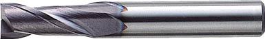 三菱K バイオレットエンドミル16.0mm【VA2MSD1600】(旋削・フライス加工工具・ハイススクエアエンドミル)