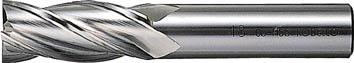 三菱K センターカットエンドミル22.0mm【4MCD2200】(旋削・フライス加工工具・ハイススクエアエンドミル)【送料無料】