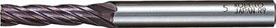 三菱K 超硬ミラクルエンドミル9.0mm【VC4JCD0900】(旋削・フライス加工工具・超硬スクエアエンドミル)【送料無料】