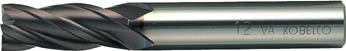 三菱K バイオレットエンドミル20.0mm【VA4MCD2000】(旋削・フライス加工工具・ハイススクエアエンドミル)