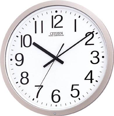 シチズン パルウェーブM603B(電波掛時計)プラスチック枠【4MY603-B19】(OA・事務用品・掛時計)