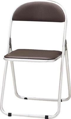 品質満点 TOKIO パイプ椅子 シリンダ機能付 アルミパイプ ブラウン【CF-700-BR】(オフィス家具・会議用チェア), family家具 0129517b