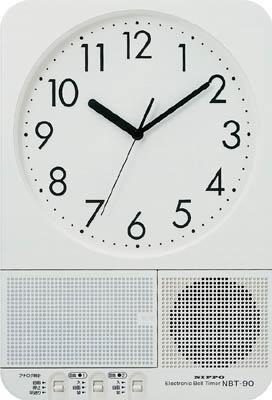 ニッポー ベルタイマー NBT-90【NBT-90】(OA・事務用品・掛時計)(代引不可)