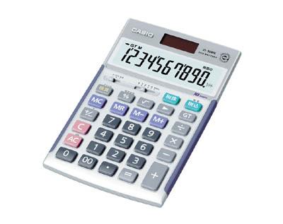 カシオ ジャストタイプ電卓【JS-10WK】(OA・事務用品・電卓)