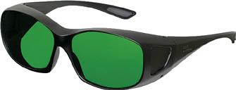 リケン レーザー用遮光めがね【RSX-4 YG】(保護具・レーザー用保護メガネ)